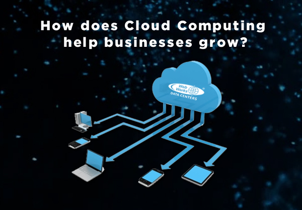 How does Cloud Computing help businesses grow?