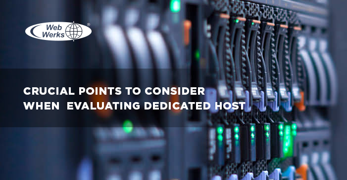 Crucial Points to Consider When Evaluating Dedicated Host