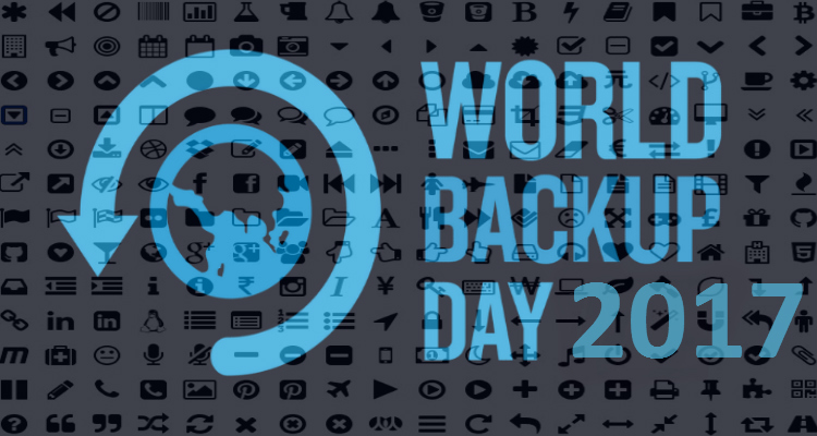 World Backup Day is coming up real soon on March 31st!